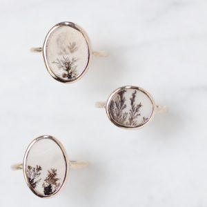 樹枝状結晶のリング